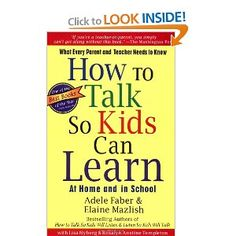 Down-to-earth dialogues, and show parents and teachers how to help children handle the everyday problems that interfere with learning.