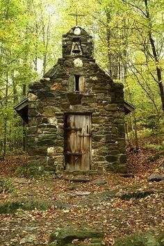 Abandoned church in Vermont