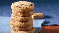 Brown Butter-Chocolate Chip Icebox Cookies from Cooking Club.