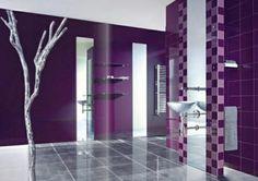 purple bathroom decor ideas,purple luxury bathroom decoration examples