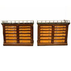 Pr. Map Chests by Gillows