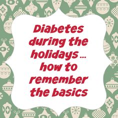 Tips on managing #diabetes during the #holidays: Excercise, oral health, stress management and #recipes. #HealthyHolidays