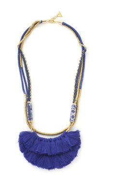 タッセル&ビーズネックレス / tassel and beads necklace on ShopStyle