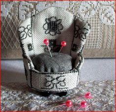 Tuto du petit fauteuil pique-aiguilles - Tutos anciens en vrac