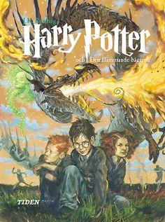 Harry Potter och den flammande bägaren av J K Rowling (Bok) Harry Potter Goblet, La Saga Harry Potter, Mundo Harry Potter, Harry Potter Facts, Serial Art, Harry Potter Book Covers, Goblet Of Fire, Lord Voldemort, Fan Art