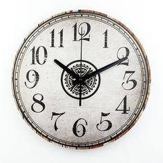 12'' silent quartz wall clock modern home decoration wall clocks decoration living room wall watches antique wall clock