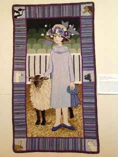 Patty Yoder exhibit at Shelbourne Museum, VT