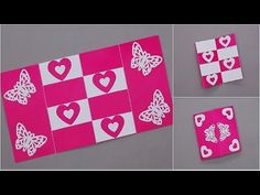 Handmade love card for someone specialvalentine greeting cards diy secret message card tutorial this tutorial video on how to make a secret m4hsunfo