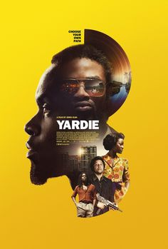 Yardie Movie Poster ( of Sports Graphic Design, Graphic Design Posters, Graphic Design Illustration, Poster Design Movie, Dm Poster, Poster Layout, Creative Poster Design, Creative Posters, Design Graphique