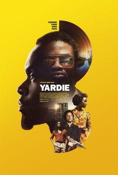 Yardie Movie Poster ( of Sports Graphic Design, Graphic Design Posters, Graphic Design Illustration, Poster Design Movie, Graphic Design Projects, Dm Poster, Poster Layout, Webdesign Inspiration, Poster Design Inspiration