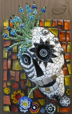 By Linda Biggers   Another cool sugar skull!