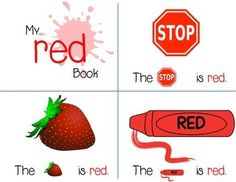 What Colors Make Red red coloring pages for preschool | lesson- red coloring page