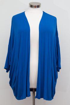 Lane Bryant Open Front Blue Cardigan - Size 26/28
