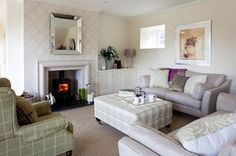 Fife steading conversion - transitional - living room - other metro - Robertson Lindsay <3