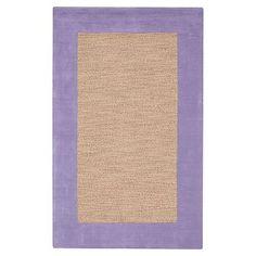 Classic Wool Border Rug #pbteen | 8x10 special $509