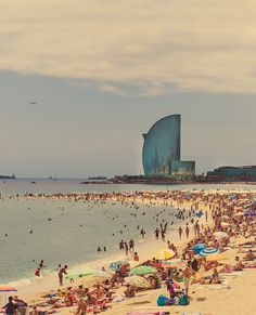 Barcelona, Spain went there...... The water was REALY dirty, but I loved it any way. Would go back