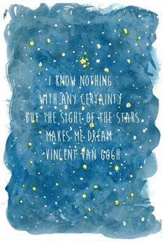 Van Gogh Quote Wallpaper