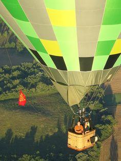 Dans la nacelle d'Atmosph'Air montgolfières Le Tarn au gré du vent