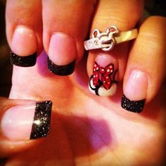 Disney nail art doing this for new years @Disneyland