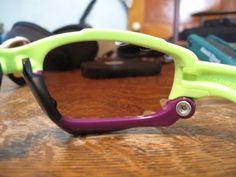 Oakley jawbones in retina burn and purple!