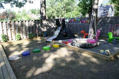 Great way to turn your backyard into fun.