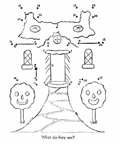 Nursery Rhyme Dot to Dot Pages, Hansel and Gretel connect the dots coloring page sheet. Christmas Writing, Christmas Math, Christmas Themes, Fairy Tale Activities, Summer Camp Themes, School Age Activities, Hansel Y Gretel, Winter Birthday Parties, Dotted Page