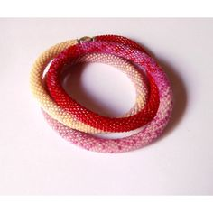 """Bracelet or necklace Cherry modern newchic Summer 2017, Length 19,68""""... (€66) ❤ liked on Polyvore featuring jewelry, necklaces, beading necklaces, macrame jewelry, beading jewelry, beaded necklaces and magnet jewelry"""