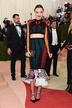 Miranda Kerr Met Gala 2016 #ManusxMachina