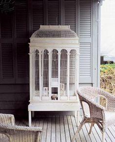 old birdcage.