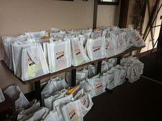 Swag bags #evoconf #nakanosplash #hollandhousecw