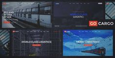 Download and review of GoCargo - Freight, Logistics & Transportation WordPress Theme, one of the best Themeforest Corporative themes