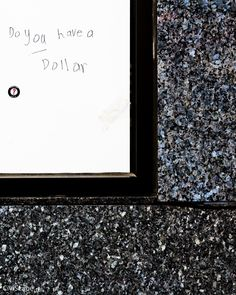 Scratched Graffiti: Do You Have a Dollar?