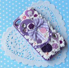 Purple decoden case