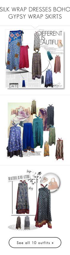 SILK WRAP DRESSES BOHO GYPSY WRAP SKIRTS by baydeals on Polyvore featuring vintage, skirt, Bohemian, wrapskirt, wrapdresses, twolayer, H&M, boho, long and magicskirt   http://www.polyvore.com/cgi/collection?id=5527277 #wrapskirts #dresses #bohemian #boho #silksariwrapskirts #bohemian #boho #gypsy #hippie #mogulinterior #beachwear