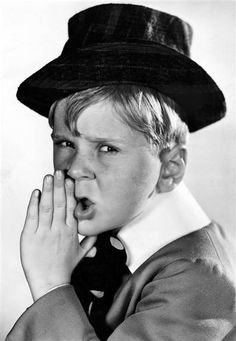 Jackie Cooper, 1930's. Child star of The Little Rascals
