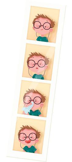 photo strip So cute and creative!