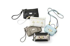 These fashionable wristlets  have a compact design that keeps you perfectly organized with inside hand-aligned card pockets.