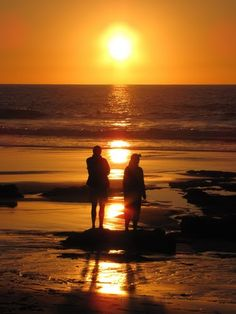 'Life Reflections' - Sunset, La Playa del Aljibe, El Cotillo, Fuerteventura, Spain