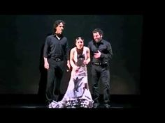 Olga Pericet fandangos con Jesus Corbacho y Miguel Ortega