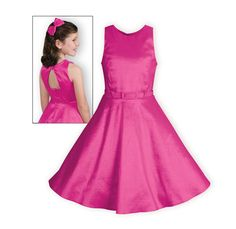 74396eba903 Father Daughter Dance Dresses - Fuchsia Shimmer Girls Dress - Wooden Soldier
