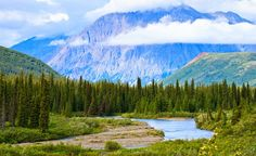 Even if Denali National Park weren't home to the highest point in the U.S., Mount McKinley, its pristine taiga and mountain lakes would be worth a visit. (From: Photos: Extreme America)