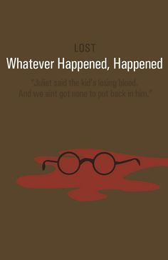 Whatever Happened, Happened     by gideonslife, via Flickr