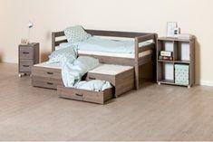 Kinder bedbank met logeerbed en 2 handige opberglades - Kidsgigant.nl Toddler Bed, Furniture, Home Decor, Ideas, Child Bed, Decoration Home, Room Decor, Home Furnishings, Home Interior Design