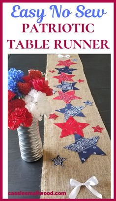 A simple DIY of July decoration for your outdoor bbq or party or an awesome summer home decor idea for your kitchen or dining room. Tutorial for how to make this easy patriotic craft for adults to celebrate America this Memorial…Read Fourth Of July Decor, 4th Of July Celebration, 4th Of July Decorations, 4th Of July Party, 4th Of July Wreath, Diy Summer Decorations, July 4th, Birthday Decorations, Patriotic Crafts