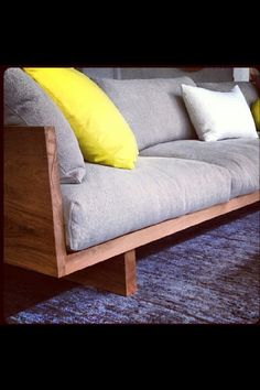 Sweet new Mark Tuckey couch..I want one!!!!