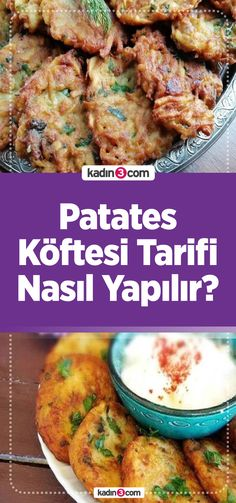 Patates Köftesi Tarifi – Vegan yemek tarifleri – Las recetas más prácticas y fáciles Beef, Meals, Chicken, Food, Pizza, Vegan Recipes, Vegan, Turkish Recipes, Meat