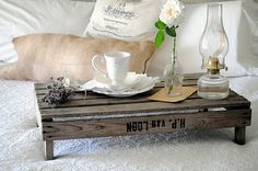 Pallet Bed tray
