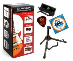 Product Code: All the accessories you will need to master your guitar skills. Buy Guitar, Cool Guitar, Electric Guitar Accessories, Guitar Cable, Guitar Tuners, Guitar Stand, Sounds Great, Coupons, Planets