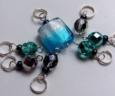 Hand made stitch markers $7.00 - what a great idea
