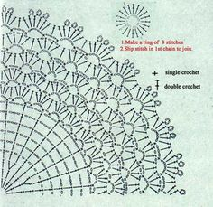 FREE DIAGRAM ~ Doily ~